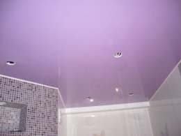 Об особенностях выбора цветных натяжных потолков