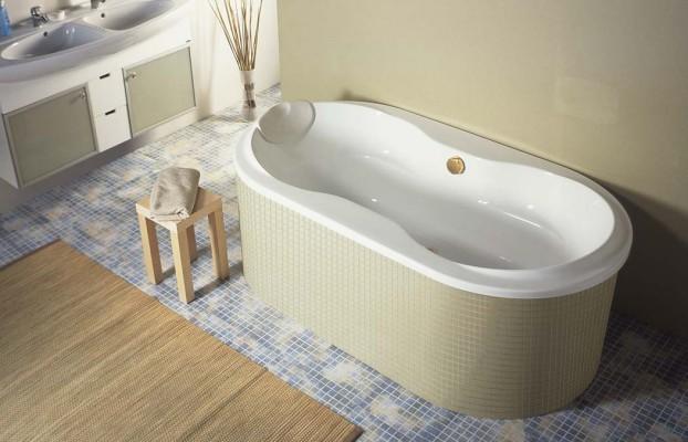 Какими бывают ванны по форме?