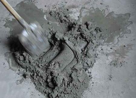 Специальный раствор цемента для стяжки теплых полов