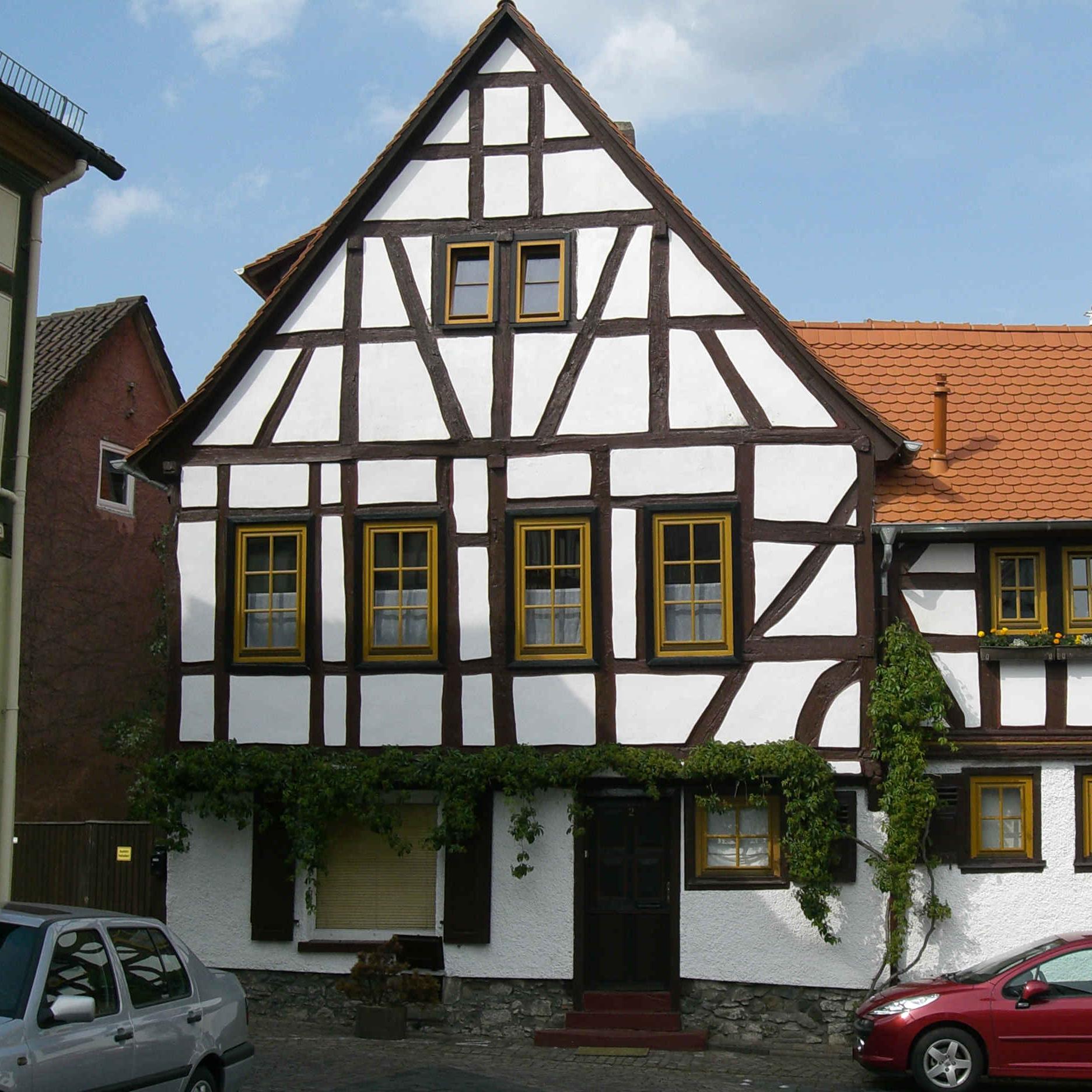 Каркасные дома, выполненные в стиле фахверк