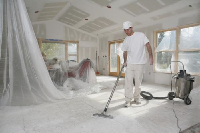 Про уборку после стройки и ремонта