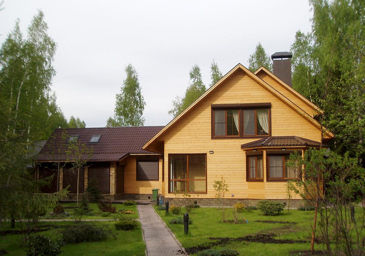 Плюсы домов из бруса